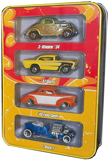 Amazon Com Hot Wheels Since 68 Muscle Cars 4 Car Pack Toys Games