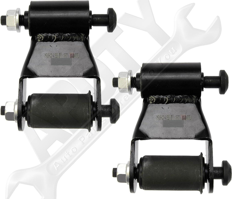 Dorman 722-020 Rear Position Leaf Spring Shackle Kit fits Dodge 52039204