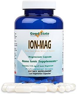 Good State - mg de magnesio iónico 115 ion-Mag. - 120 cápsulas vegetarianas