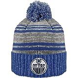 NHL Men's Merlin Cuffed Knit Hat with Pom