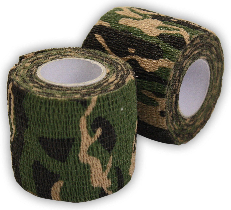 Stealth Camo Tape - Woodland Camo - Rifle Wrap Woodside