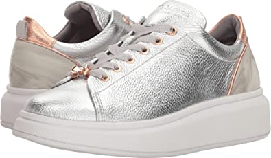 da250cbe5c48ea Amazon.com  Ted Baker Women s Ailbe Silver Leather 11 M US  Shoes
