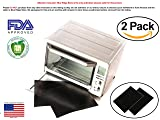 """TWO-PACK 100% Non-Stick 11"""" Toaster Oven"""