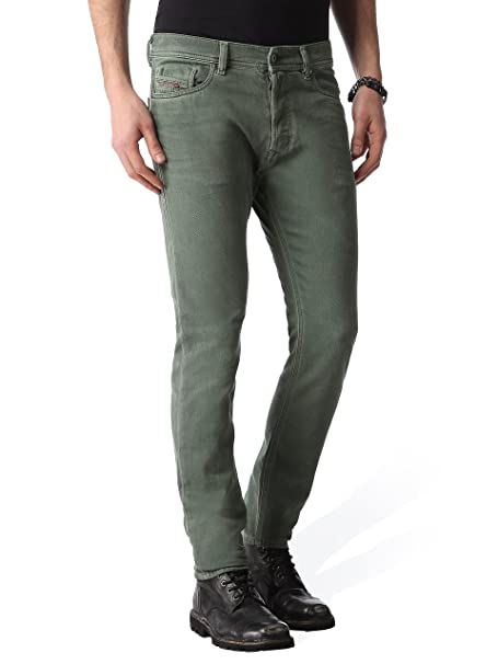 f40ca519 Diesel Mens Jeans Tepphar Slim-Carrot Green 0850Y Stretch Tag Size 34:  Amazon.ca: Clothing & Accessories