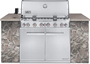 WEBER Summit S-660 Built-In Natural Gas Stainless Steel Grill (7460001)