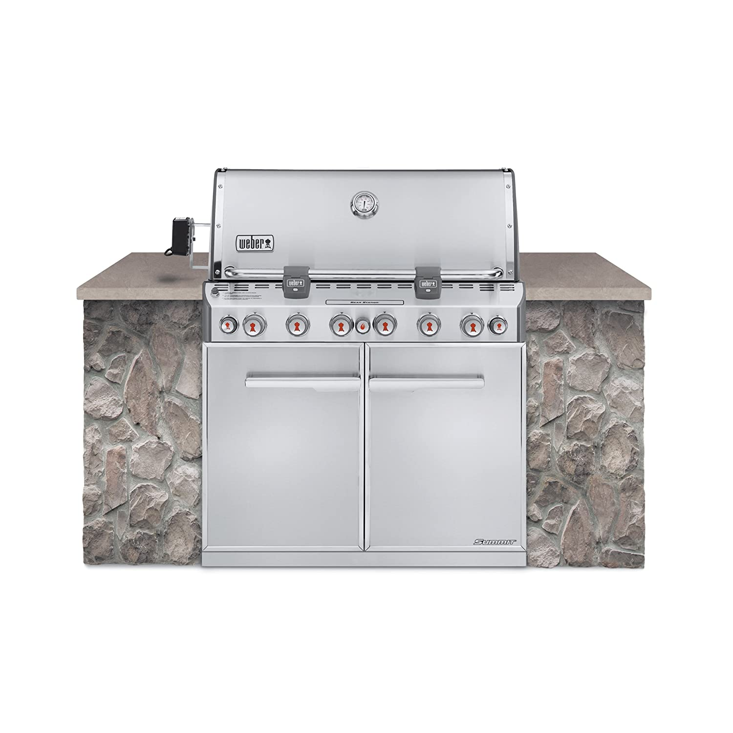Built-in Side Burner Cover Black Covermates 3 YR Warranty Elite Collection Year Around Protection 12.5W x 19.5D x 3.5H