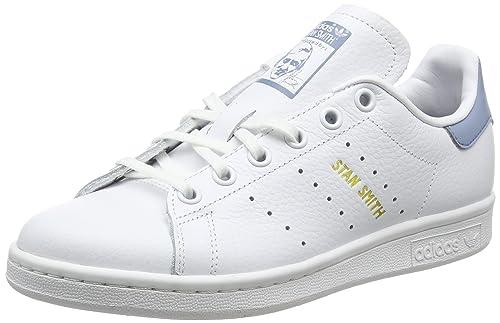 adidas Stan Smith J, Sneaker a Collo Basso Unisex – Bambini, Bianco Ftwr White