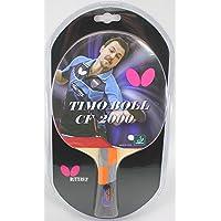 Butterfly 8827 Timo Boll Table Raqueta para Tenis de Mesa