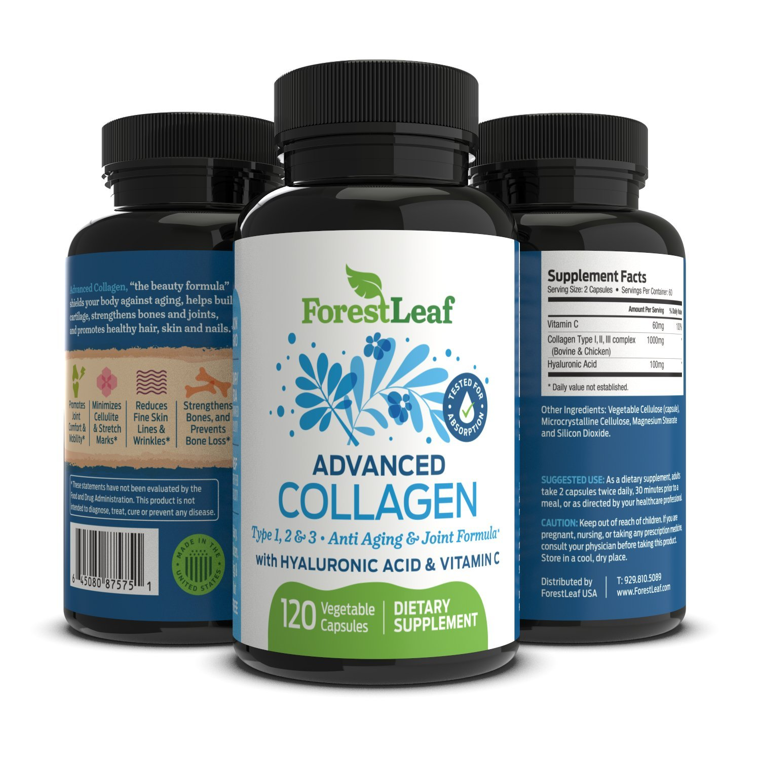 Amazon.com  Advanced Collagen Supplement 6461d3993a7c1