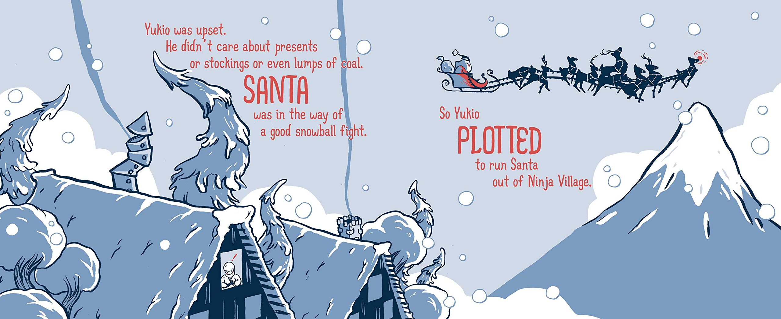 Samurai Santa: A Very Ninja Christmas Samurai Holiday ...