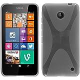 PhoneNatic Custodia Nokia Lumia 630 Cover trasparente X-Style Lumia 630 in silicone + pellicola protettiva
