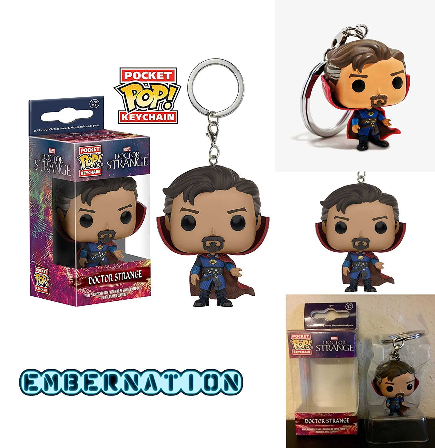 Doctor Strange Dr Funko Pocket POP Keychain NEW