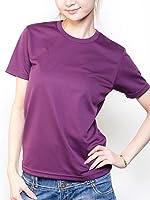 ティーシャツドットエスティー Tシャツ ドライ 半袖 無地 UVカット 4.4oz レディース