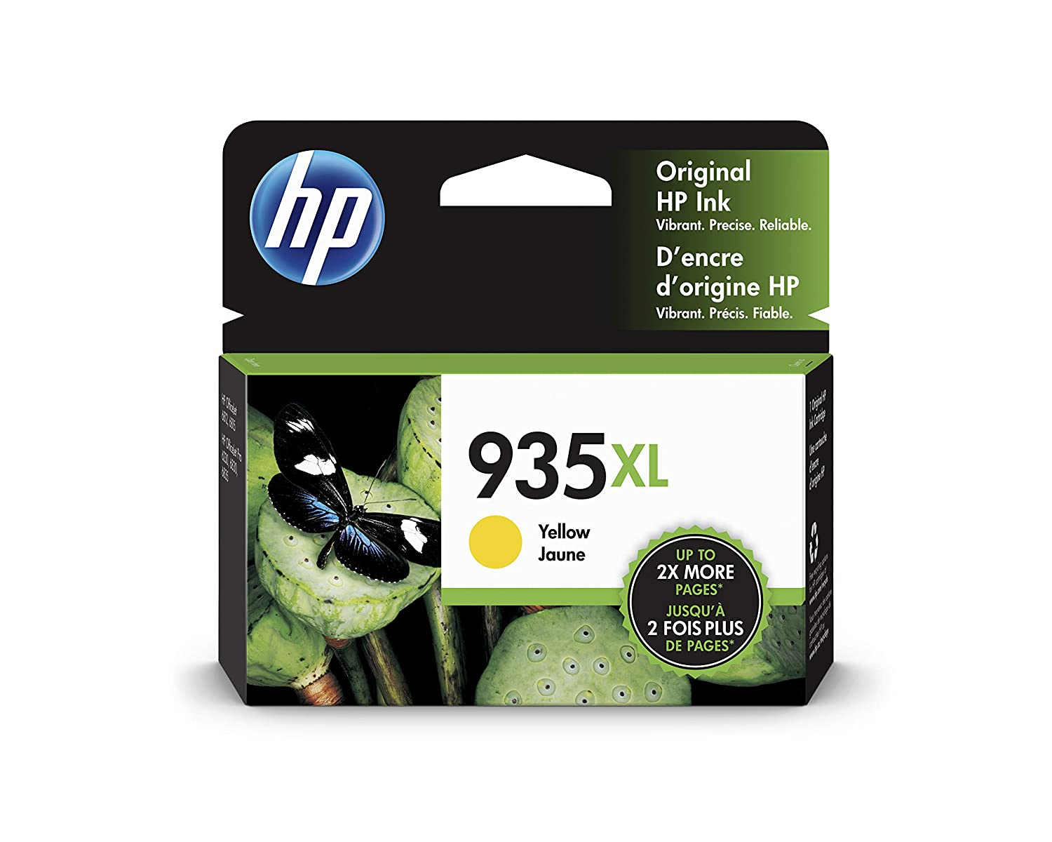 HP 935XL | Ink Cartridge | Yellow | C2P26AN