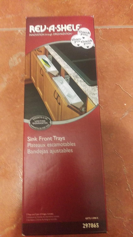 Rev-A-Shelf 6572 Sink Front Trays 6572-14W-R61613