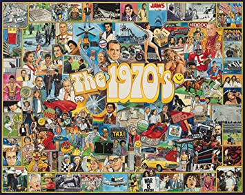 White Mountain Puzzles The Seventies 1000 Piece Jigsaw Puzzle