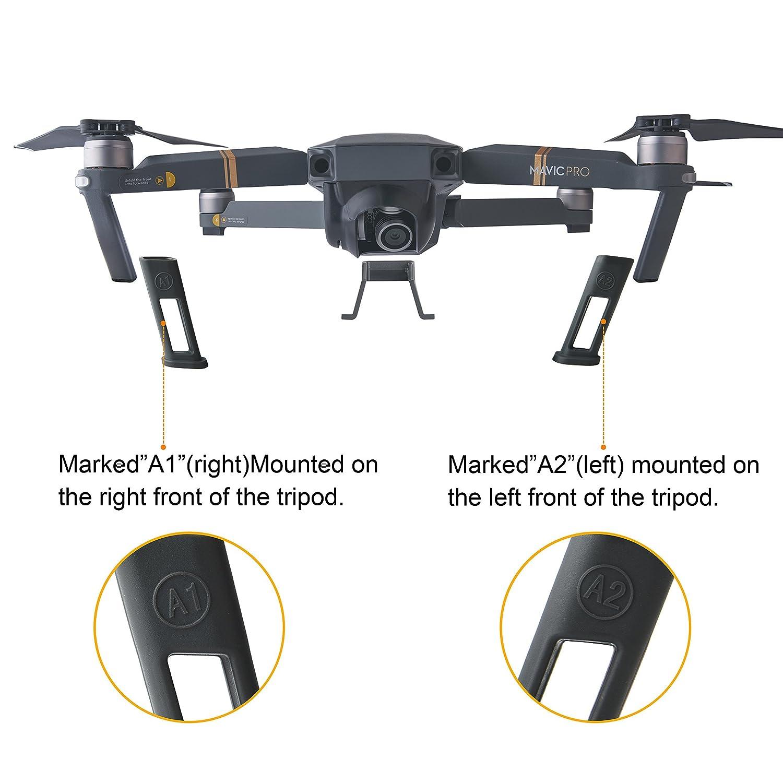 Kuuqa 4 piezas Kit de accesorios de protección DJI Mavic Pro ...