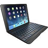 ZAGG Folio für iPad Air 2 -  Bluetooth Tastatur mit hintergrundbelechteten Tasten - schwarz (Deutsches Tastaturlayout)