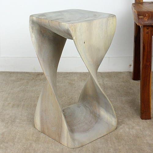 Haussmann Small Twist Side Table, 10 x 18