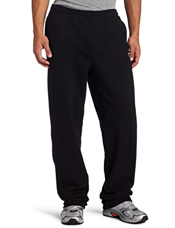 cfd5468b36b1 Champion Men's Open Bottom Eco Fleece Sweatpant at Amazon Men's ...