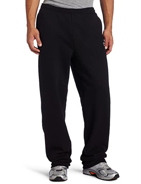 c9625b31bc9c Champion Men s Open Bottom Eco Fleece Sweatpant at Amazon Men s ...