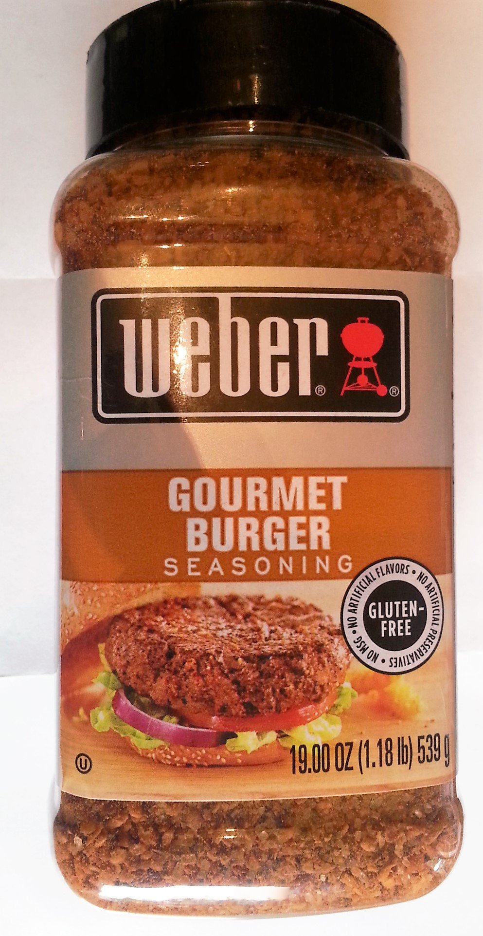 Weber Gluten Free Gourmet Burger Seasoning 19 Oz Super Size