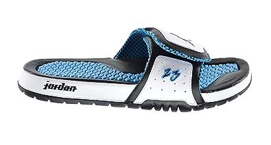 quality design b93db 6ec45 Amazon.com | Jordan Hydro 2 Premier Men's Slides White/Black ...