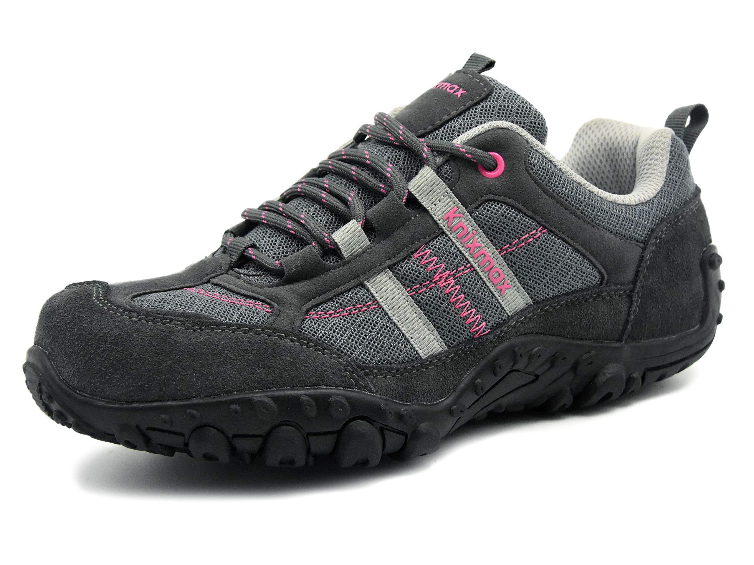 premium selection eaef5 9f710 Knixmax Femme Randonnée Chaussures de Sport en Plein Air Respirant  Antidérapant Espadrilles product image