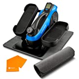 LifePro Under Desk Elliptical Trainer for Home & Office - Calf Leg Foot Pedal Exerciser - Seated Compact Elliptical Bike Mach