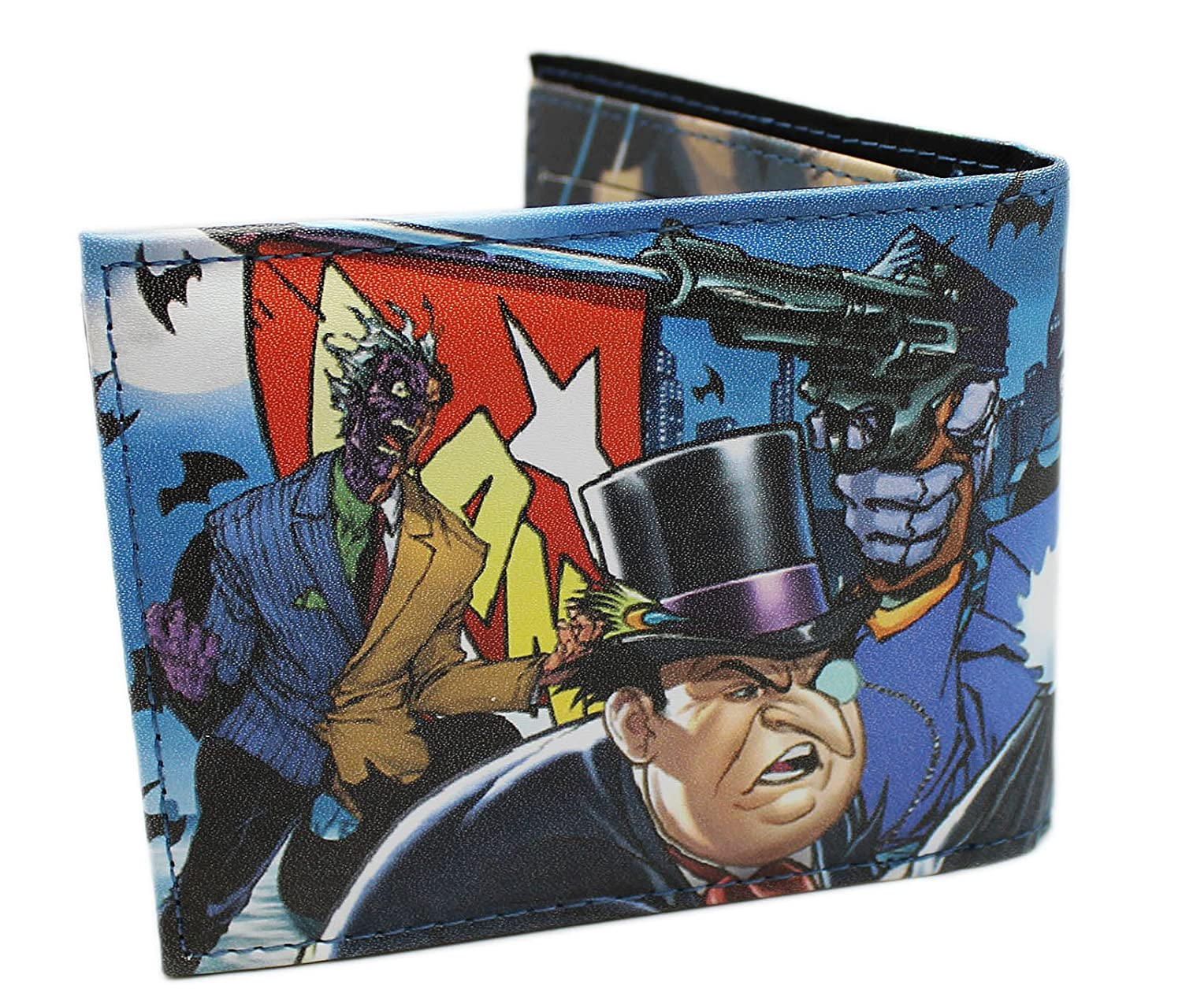 Amazon.com: DC Comics Villanos cartera: Clothing
