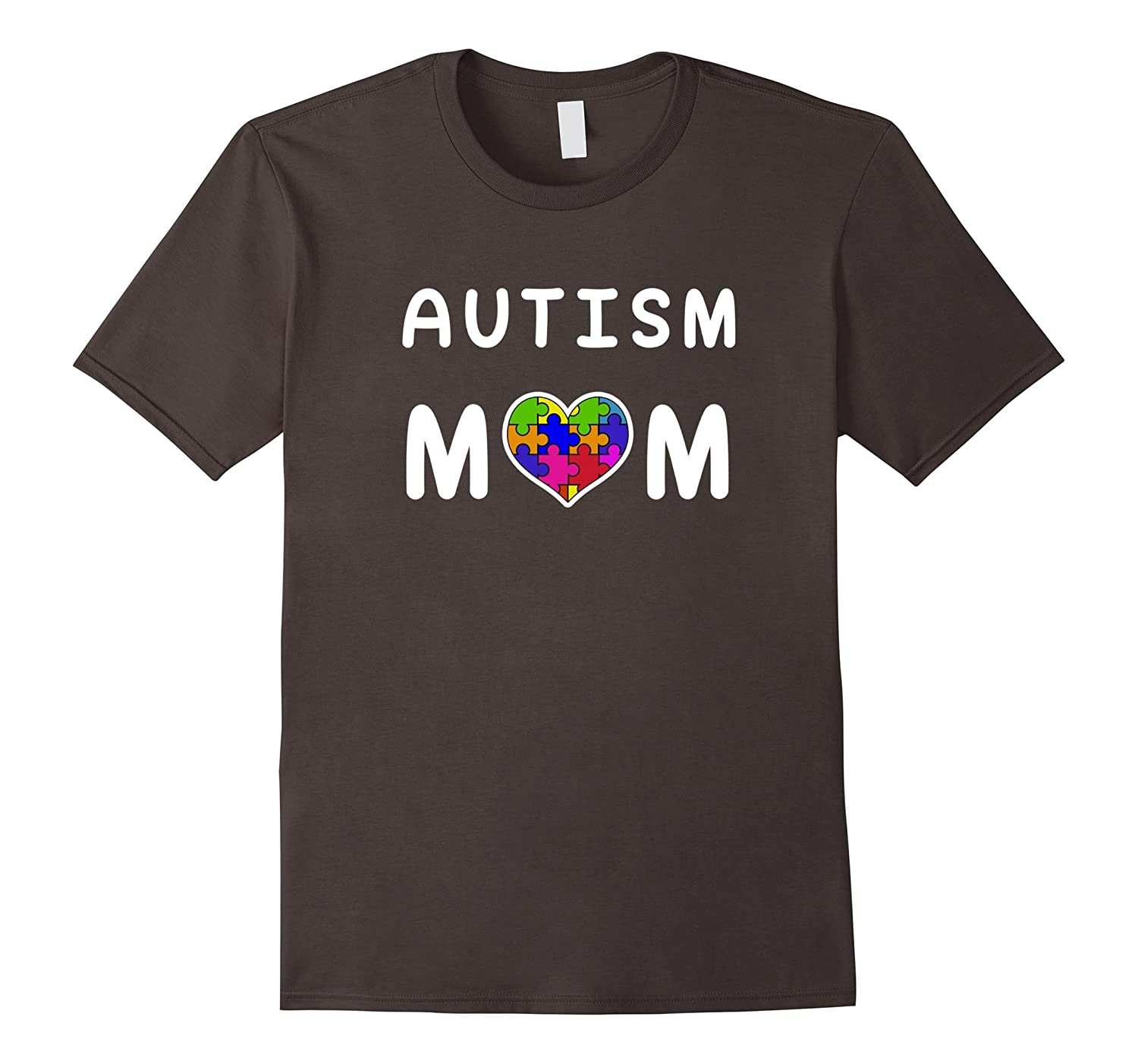 Proud Autism Mom T Shirt Autism Awareness Day Loving Mom-TH