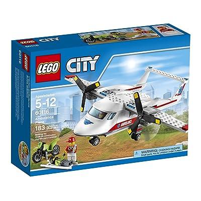 LEGO CITY Ambulance Plane 60116: Toys & Games