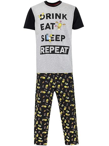 Simpsons Pijama para Hombre Homerhttps://amzn.to/2V5dYlk
