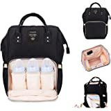 Robustrion Stylish Waterproof Multifunctional Diaper bags for Mothers for travel Nappy Tote Backpack Large Size (20 x 18 x 40 cms) - Coral