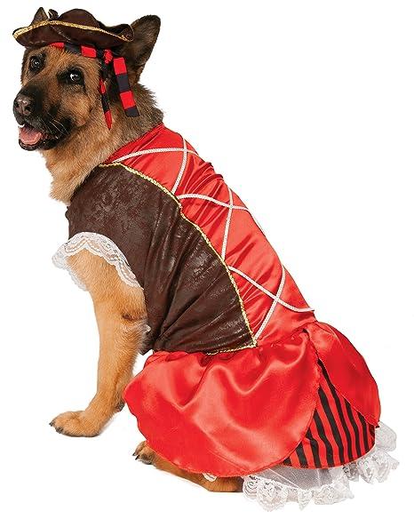Rubieu0027s Big Dog Pirate Girl Dog Costume  sc 1 st  Amazon.com & Amazon.com : Rubieu0027s Big Dog Pirate Girl Dog Costume : Pet Supplies