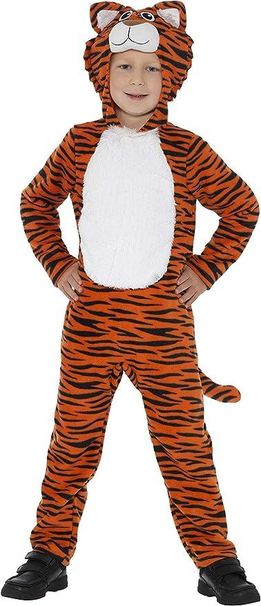 SmiffyS 46754S Disfraz De Tigre, Naranja Y Con Mono Con Capucha Y ...
