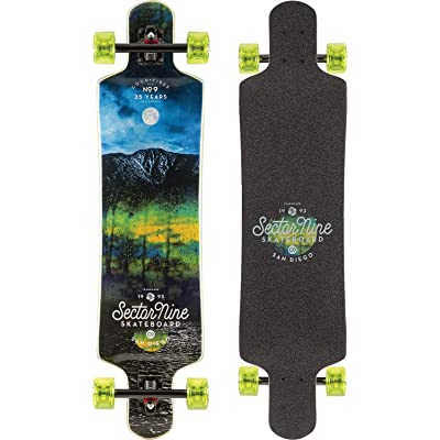 Sector 9 Midnight Faultline Longboard Complete Sz 39.5 x 9.75in : Sports & Outdoors