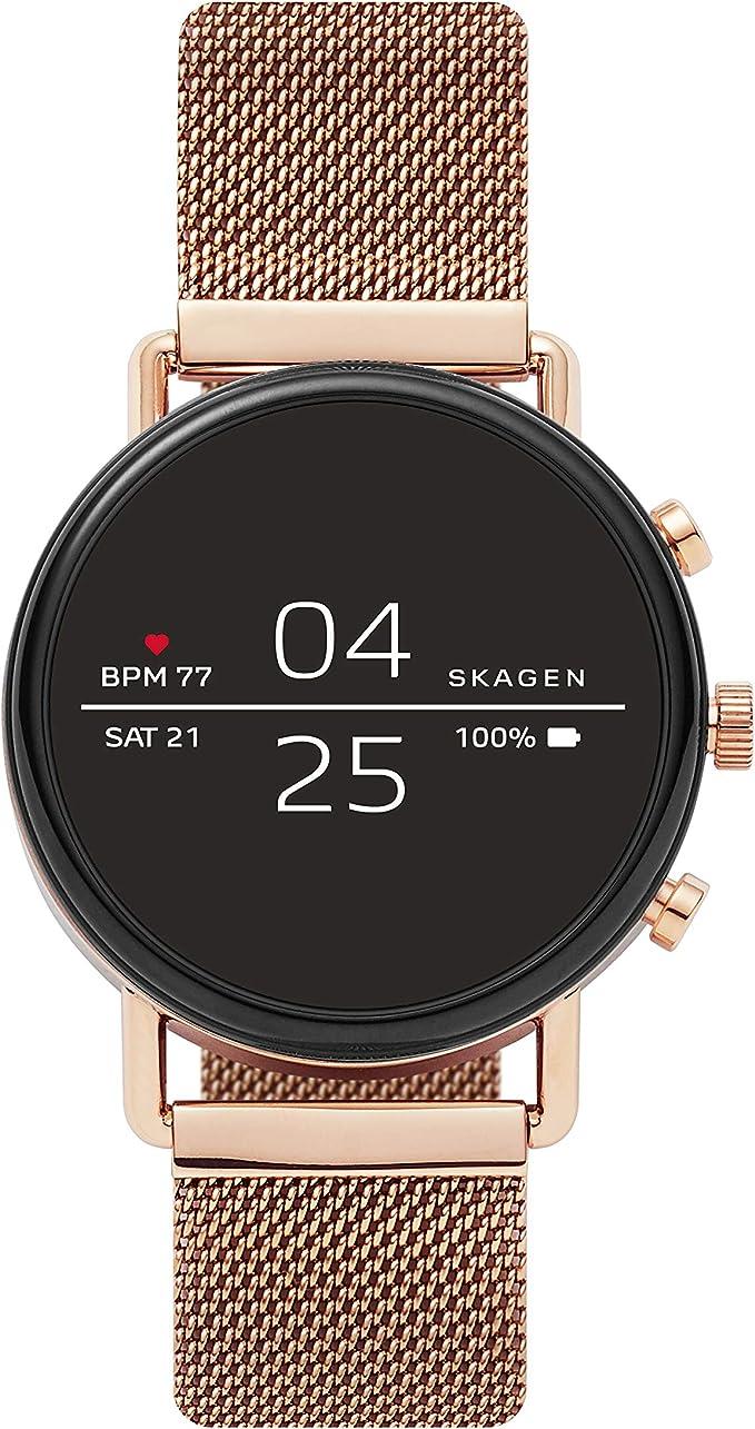 Amazon.com: Skagen Connected Falster 2 Reloj inteligente con ...