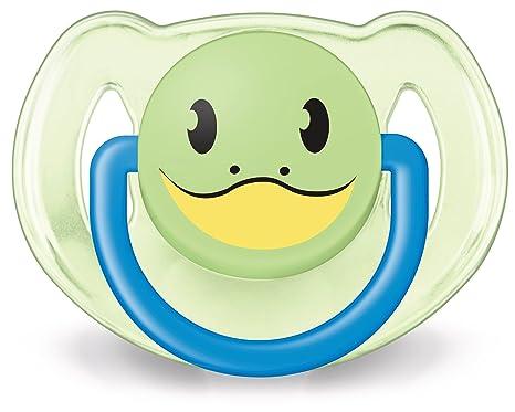 Philips AVENT SCF182/34 - Chupete diseño animales (de 6 a 18 meses, sin BPA, 2 unidades), surtido: colores aleatorios