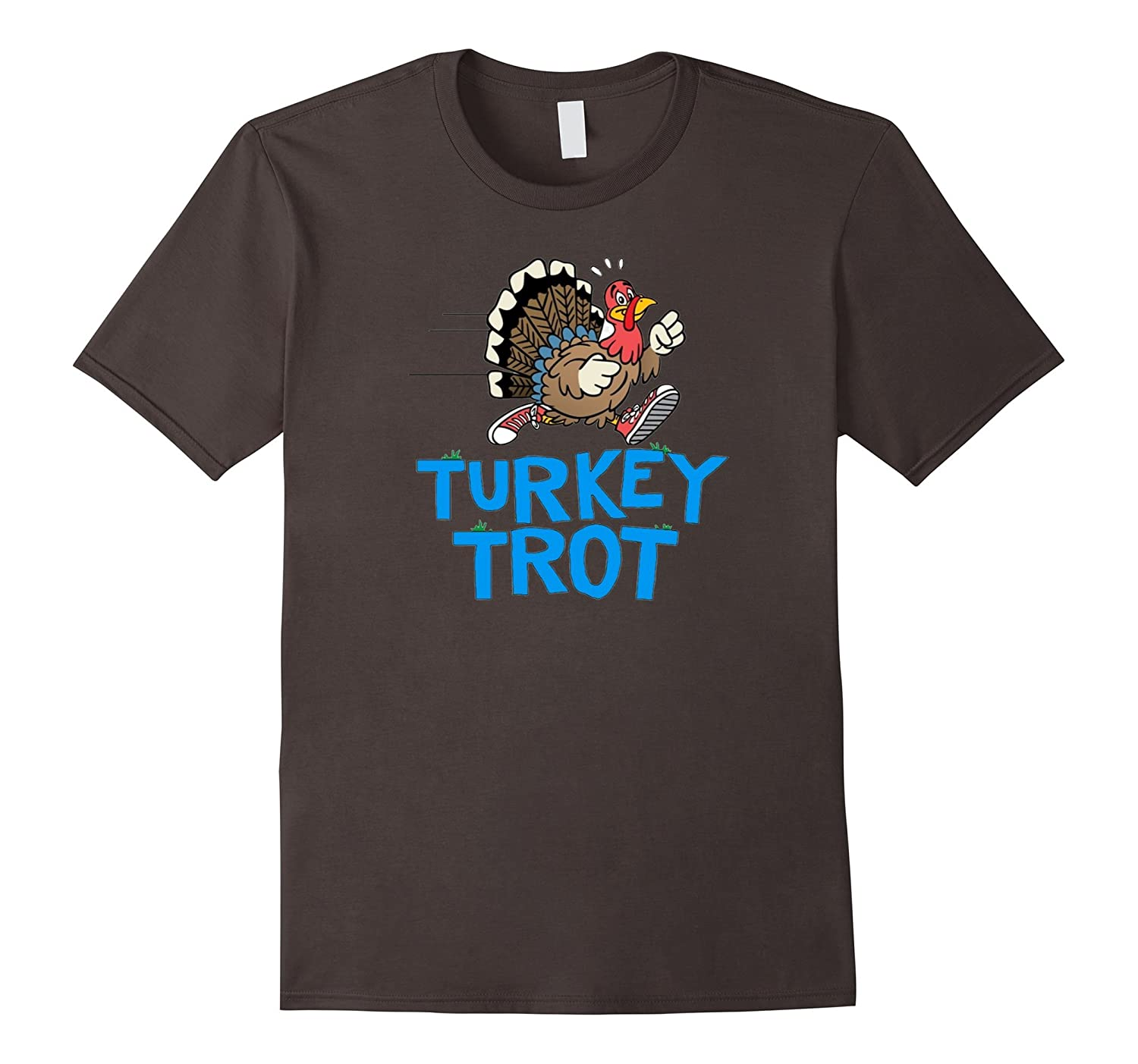 Happy Thanksgiving day T Shirt - Turkey Trot 2016 - run-TD