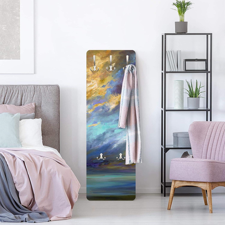 Cielo sopra Costa 139 x 46cm Bilderwelten Appendiabiti a Parete Salone con Gancio Moderno
