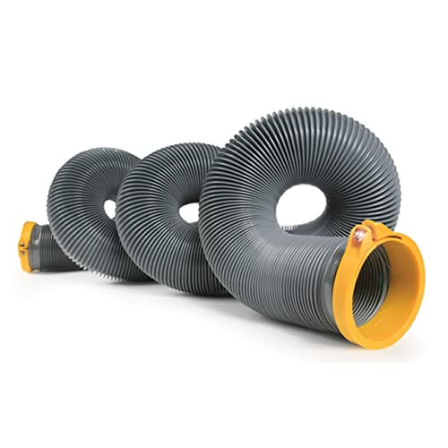 Camco 39901 HTS 15' Self Clamping Sewer Hose