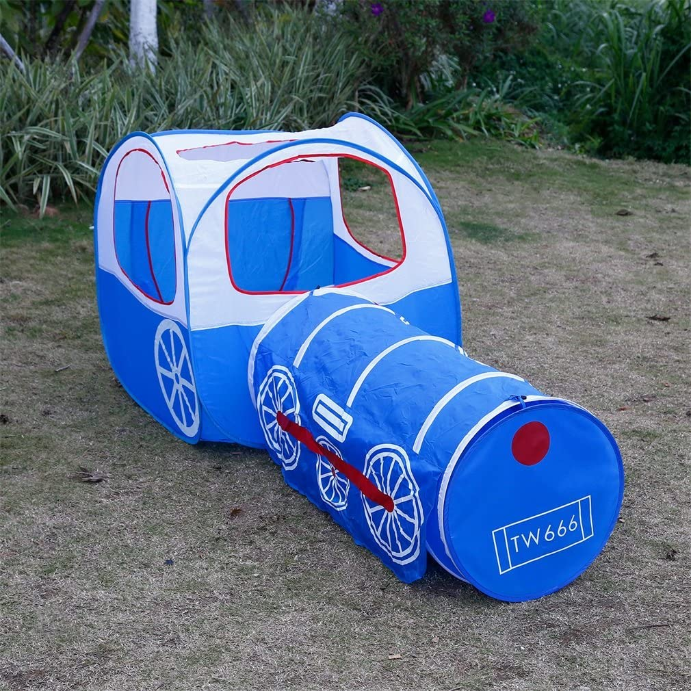 OUTAD Kinder Zelt Kinder-Abenteuer-Spiel-Zelt und Tunnel-Hof-Design Kinderzelt