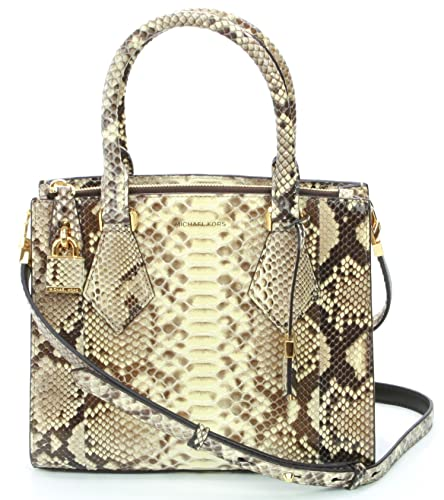 8ef5e961c8c7 Michael Kors Collection Casey Hemp Satchel Bag Snakeskin RRP £1, 870:  Amazon.co.uk: Shoes & Bags