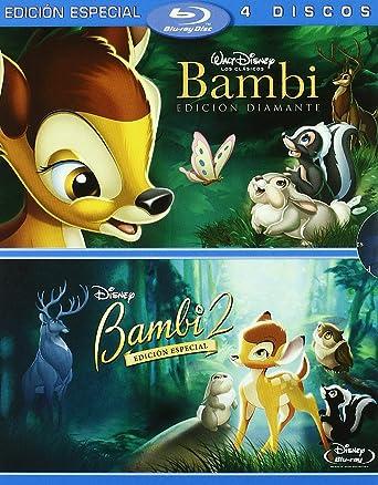 Pack Bambi + Bambi 2 (Combo Blu-Ray + DVD) [Blu-ray]: Amazon.es ...