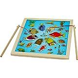 Toys of Wood Oxford Jeu de pêche et puzzle en bois