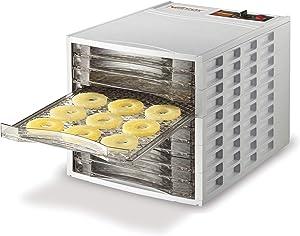 Weston Beef Jerky, Fruit and Food Dehydrator, 10-Tray (75-0201-W), Ultra Quiet Fan