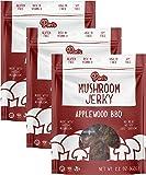 Pan's Mushroom Jerky - Applewood BBQ | 2.2oz, 3 count | Shiitake Mushroom Snack, Vegan, Plant-Based, Gluten-Free