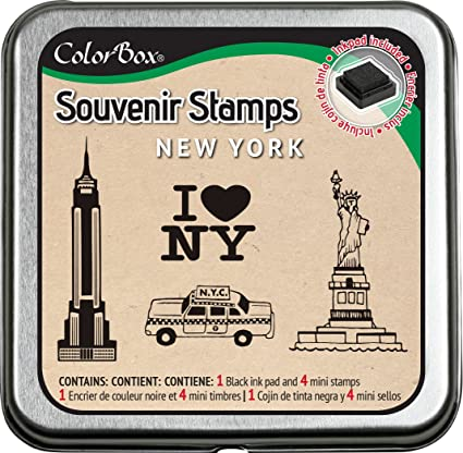 CLEARSNAP ColorBox Souvenir Stamps, New York