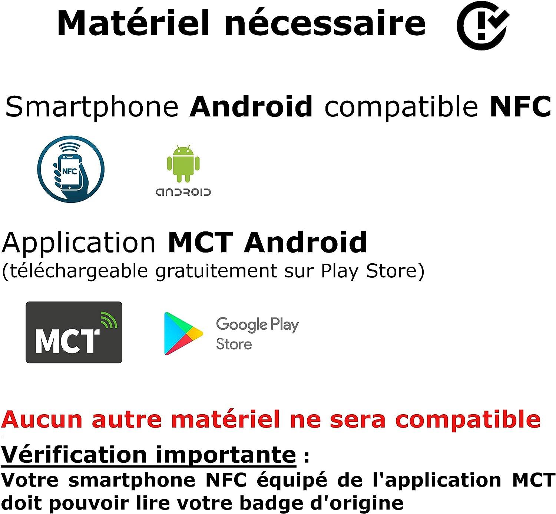 UID modificabile Badge design RFID programmabile MCT Android confezione da 5
